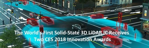 Leddartech Awards at CES 2018