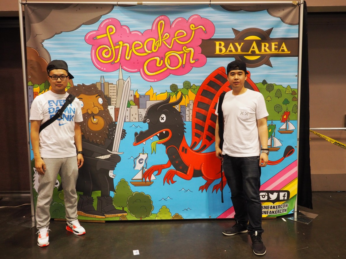 Bryan and me representing Team Canada at Sneaker Con