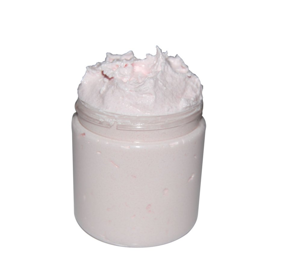foaming sugar scrub