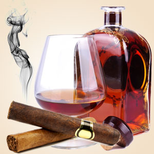 Cognac and Cubans Scent
