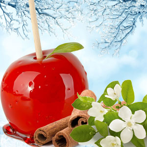 Wintery Candy Apple Fragrance Oil