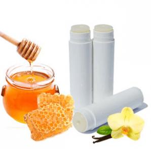 30 Free Lip Balm Recipes: Honey Vanilla Lip Balm Recipes