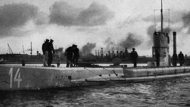 21/10/1918: Đức chấm dứt chiến tranh tàu ngầm