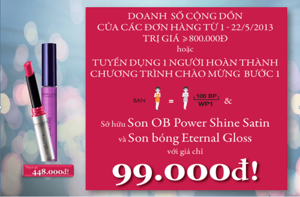 Son Moi Oriflame Giam Gia 78 03 thumb u &atilde;i th&aacute;ng 5 2013: Mua son m&ocirc;i phong c&aacute;ch Hollywood gim gi&aacute; 78%