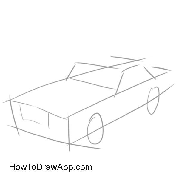 How to draw a car 01