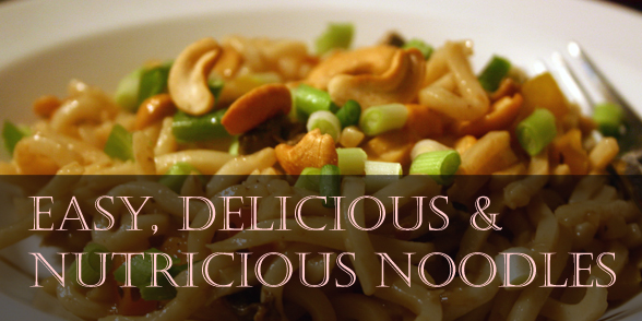 Delicious sticky noodles: 10 minute recipe