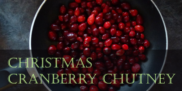 Christmas cranberry chutney recipe