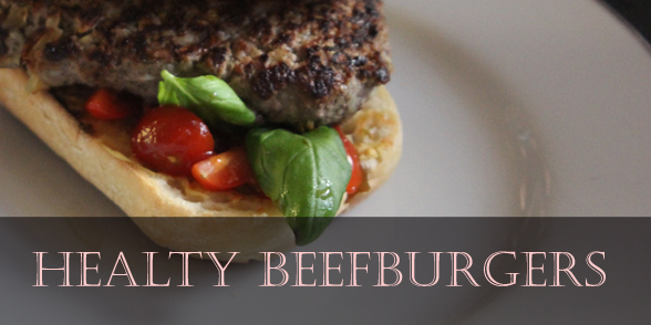 Healthy beefburger recipe (inspired by the Hairy Bikers)