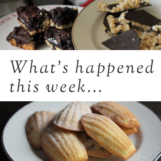 This Week in Short: Baking and Breakouts