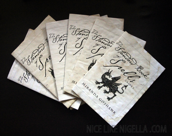 Harry Potter goody bags: The Standard Book of Spells and Bertie Botts every flavour beans