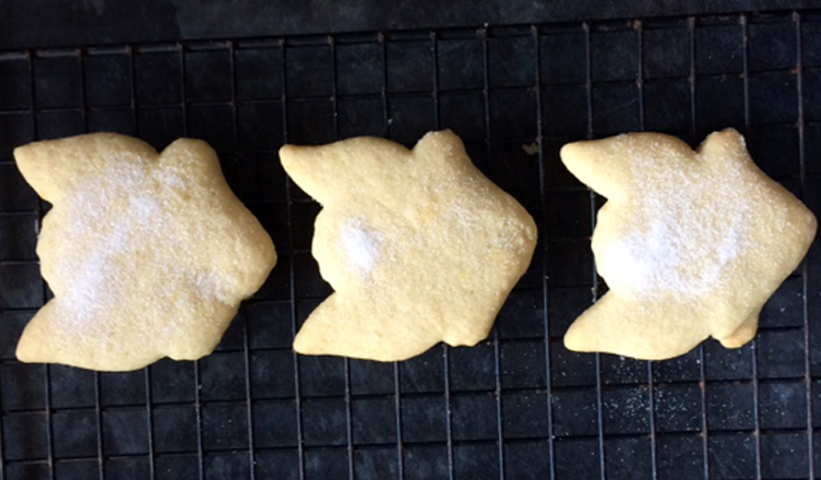 Lemon Shortbread Biscuits: The Perfect Antidote to a Rainy Thursday