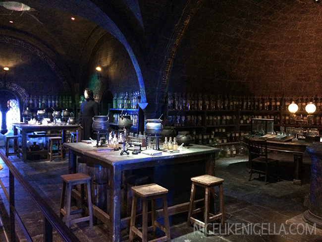 Potions Classroom Harry Potter Studios