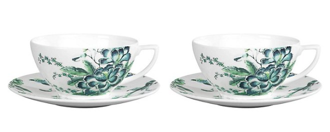 Wedgwood Chinoiserie Cup and Saucer