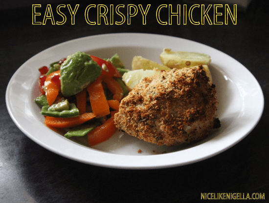 The 'Hairy Dieters' low fat crispy chicken