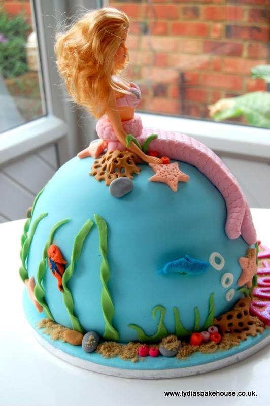 The Best Barbie Mermaid Cake In The World Nice Like Nigella