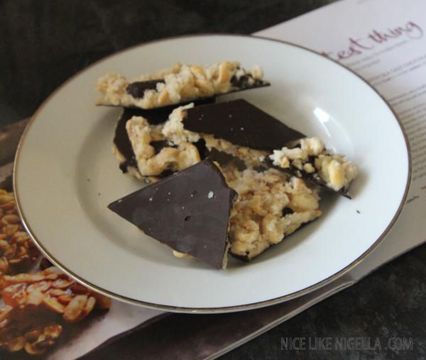 Recipe: chocolate peanut brittle