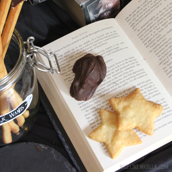 Harry Potter Exploding Chocolate Frogs and Parmesan Stars