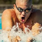 Airman swims into Hall of Fame