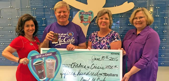 Costa Family McDonalds makes $1,500 donation to CIC