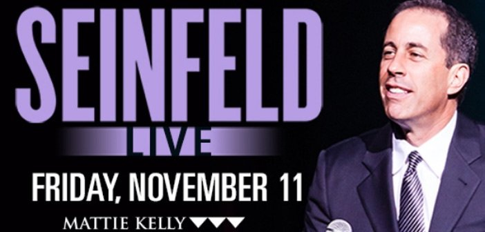 Jerry Seinfeld to appear in Niceville Nov. 11