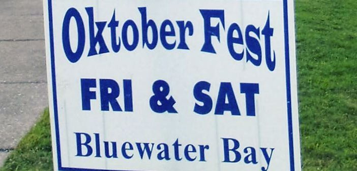 2016 Oktoberfest in Bluewater Bay on Friday and Saturday