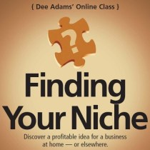 Finding Your Niche Online Class