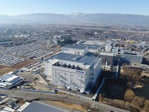 広丘事業所の全景