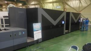 フルカラーインクジェット印刷機「MJP20AXW」