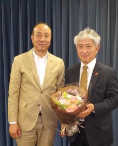 浦久保康裕(左)、作道孝行