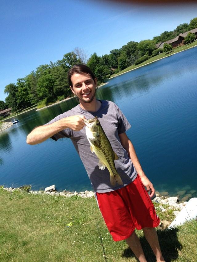 Third bass of the summer.