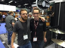 Nick Costa and Phil Pardell NAMM Show