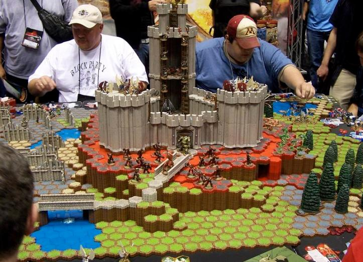 Yep there are castles too. But more importantly, look at how awesome the guys that play this are