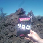 Three Daves goes for a walk at Craters of the Moon National Monument in Idaho (perhaps to see how Jen felt when she had her own moon-walking experience in Galveston ;))