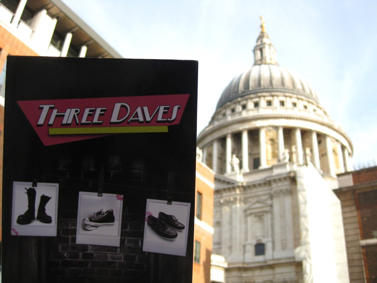 Three Daves wanders down to St. Paul's Cathedral in London, feeling good about its biblical references and moral message. Although it secretly wonders if pages 60-72 will burst into flames upon crossing the threshhold...