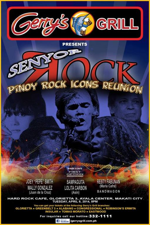 Senyor Rock, a Pinoy Rock Icons Reunion Concert