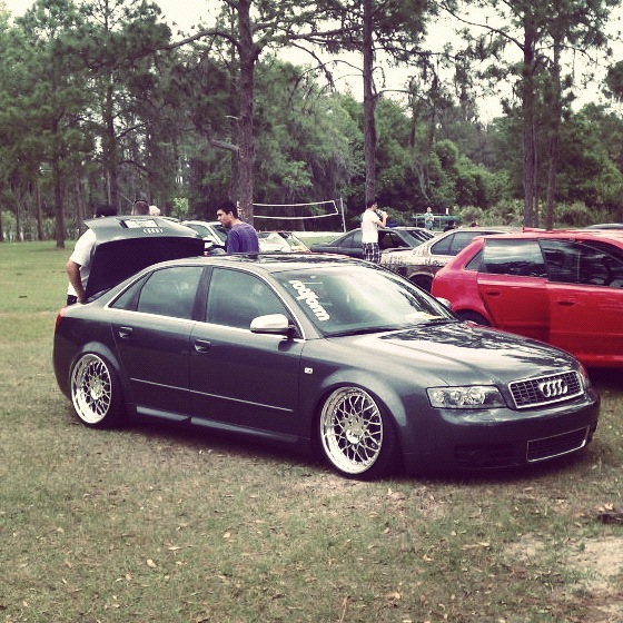 Stanced & Bagged Audi S4