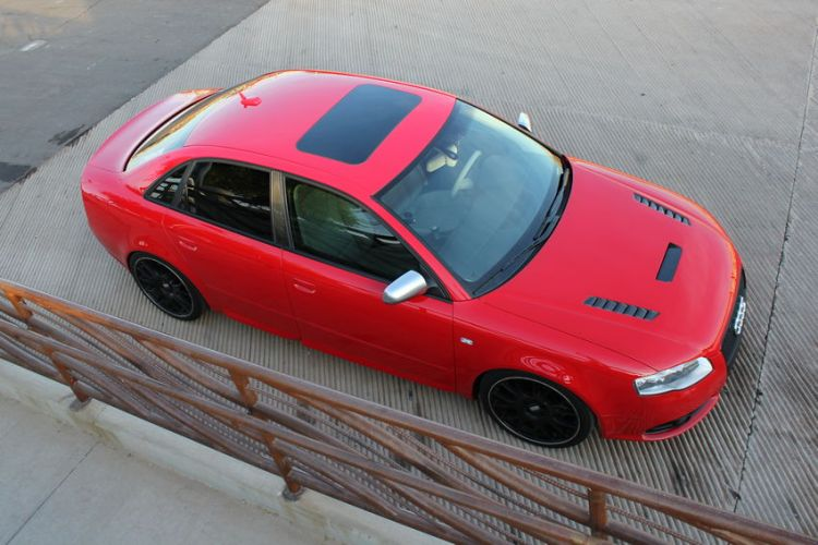B7 Audi S4 - Top View