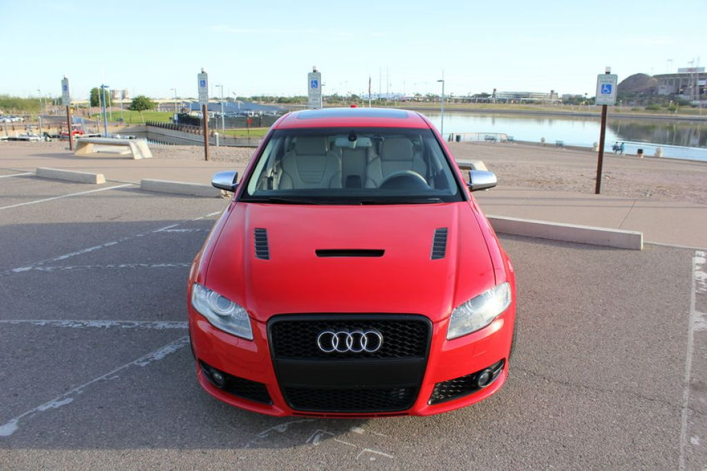 Audi S4 Carbon Fiber Hood by Aerofunction
