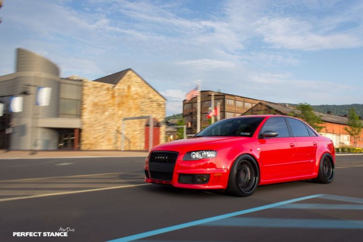 B7 Audi RS4 Misano Red