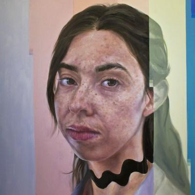 Maria Portrait Glitch WIP NIck Ward