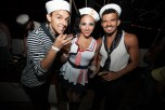 Cherie Lily with dancers Jamie Joseph & Julius Anthony Rubio