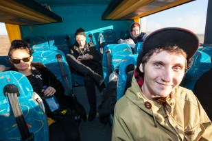 Kenny Vasoli of Vacationer on the Golden Circle excursion