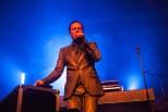 GusGus live at Iceland Airwaves at Harpa Concert Hall in Reykjavik, Iceland.