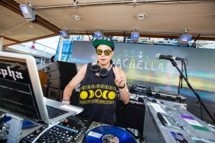 DJ Alf Alpha on the S.S. Coachella