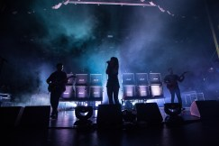 Sleigh Bells performing on the S.S. Coachella