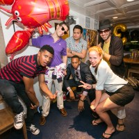 Jesse Kirshbaum's Lobster Birthday Boat Party on the North River Lobster Co. Boat on July 7, 2014