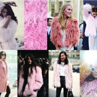 STYLE: Pink Faux Fur Coat Trend