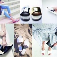STYLE: Throwback Thursday Athletic Slide Sandal Trend