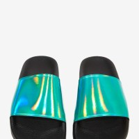 STYLE: Hologram Slide Sandals by Sixty Seven