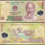 Vietnam 10000 DONG 2010 P 119 UNC